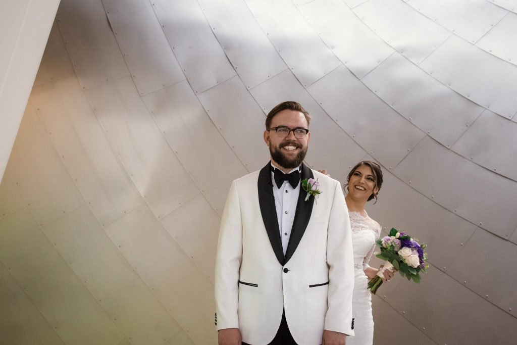 Ideal Wedding Photography Timeline - First Look