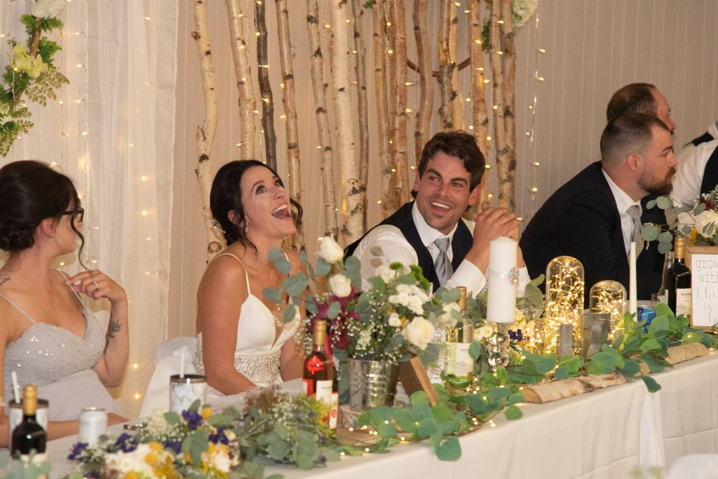 Ideal Wedding Photography Timeline - Reception (Speeches)