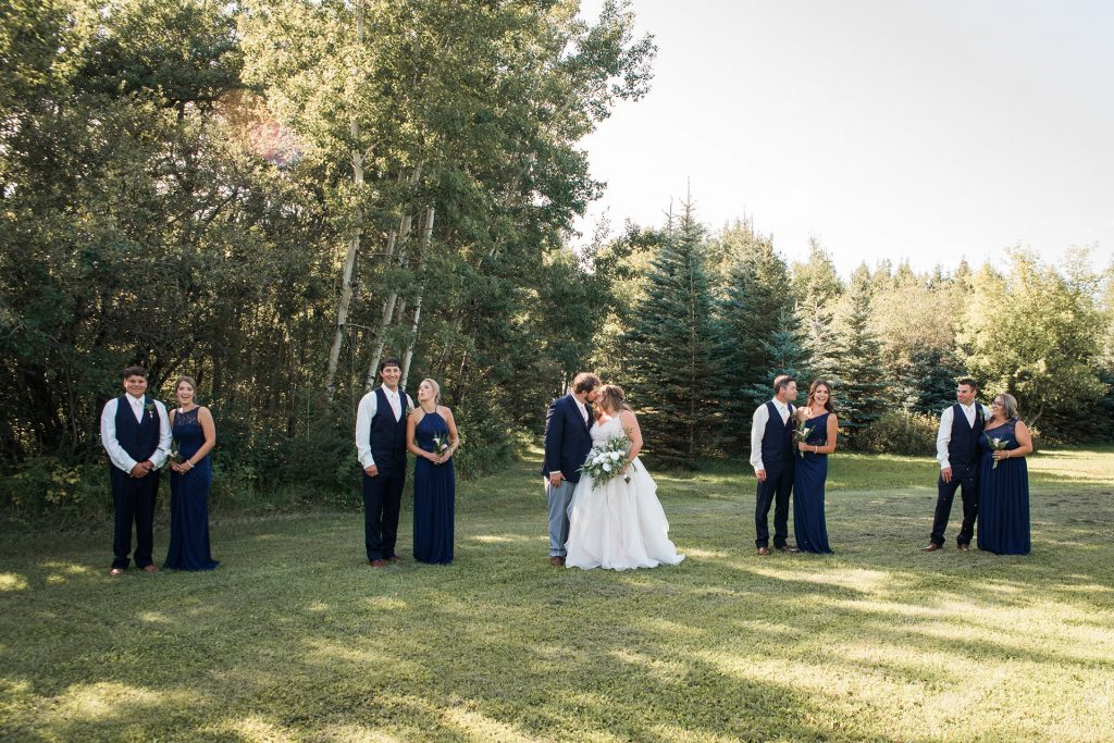 Ideal Wedding Photography Timeline - Wedding Party Session